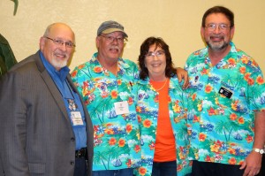 Earl Sawyer, Doug White, Kay White, and Larry Bohn