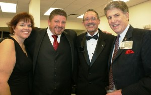 Irene Shanley, Michael Holliday, Don Ebbitt, and Hal Williams